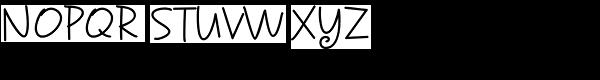 Sunnydale Font UPPERCASE