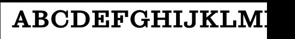 Sutro™ Extra Bold Font UPPERCASE