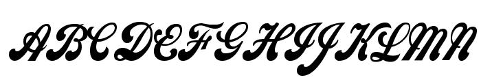 Sweden Condensed Normal Font UPPERCASE