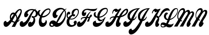 Sweden Thin Normal Font UPPERCASE