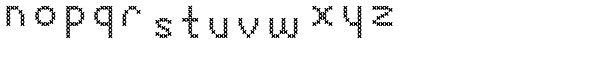 Sweet Home Sans Serif Font LOWERCASE