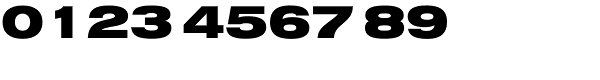 Swiss 721 Black Extended Font OTHER CHARS