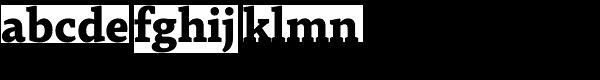 Tabac G4 Bold Font LOWERCASE