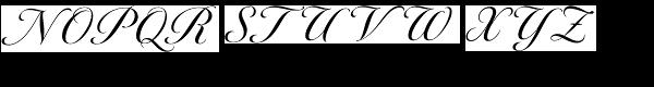 Tangier Medium Font UPPERCASE