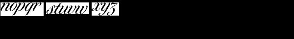 Tangier Medium Font LOWERCASE