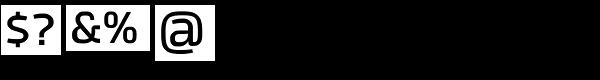 Tecna Demibold Font OTHER CHARS