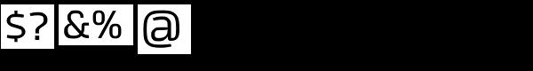 Tecna Font OTHER CHARS