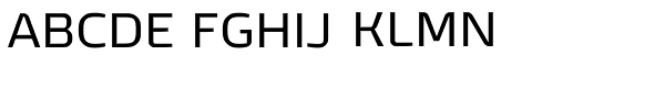 Tecna Font UPPERCASE