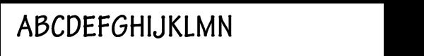 Tekton Pro Bold Cond Font UPPERCASE