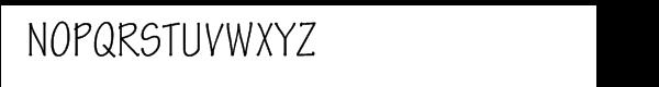 Tekton Pro Cond Font UPPERCASE