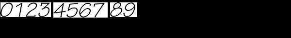 Tekton Pro-Obl Font OTHER CHARS