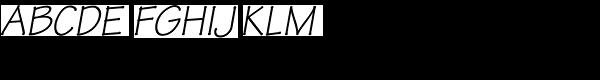 Tekton Pro-Obl Font UPPERCASE