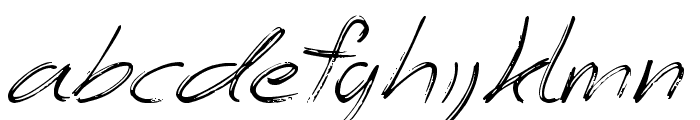 The Angels Font LOWERCASE