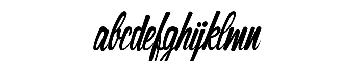 The Cinthia Edito Font LOWERCASE