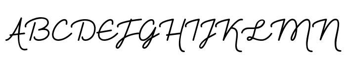 The Heart Maze Demo Font UPPERCASE