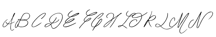 The Waddys Font UPPERCASE