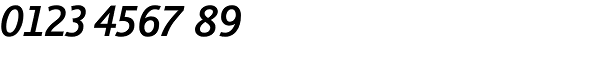 Thordis Sans EF SemiBold Italic Font OTHER CHARS