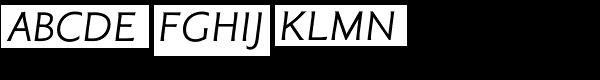 Tinman Pro Italic Font UPPERCASE