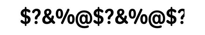 Tondo Std Signage Font OTHER CHARS