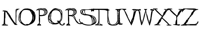 to ogle Font LOWERCASE