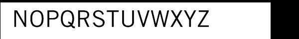 Trade Gothic™ Com Roman Font UPPERCASE