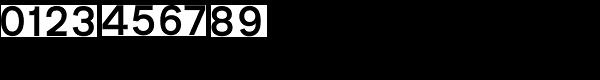 Transport D Medium Font OTHER CHARS