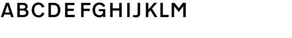 Transport D Medium Font UPPERCASE