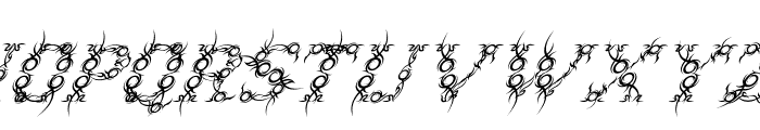 Tribou-Italic Font UPPERCASE