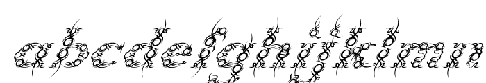 Tribou-Italic Font LOWERCASE
