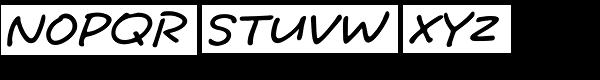 Tuf Medium HMK Font UPPERCASE
