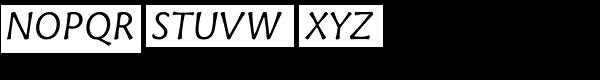 Tuff Italic Font UPPERCASE