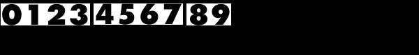 Twentieth Century MT Ultrabold Font OTHER CHARS