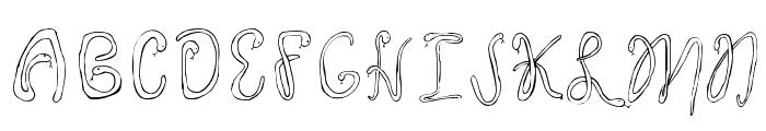 Twentysix Snakerumba Font LOWERCASE