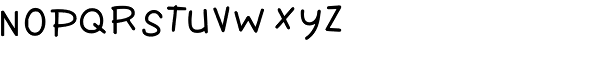 TXT Personality Font LOWERCASE