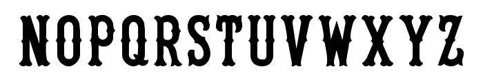 UA Tiffany Font LOWERCASE