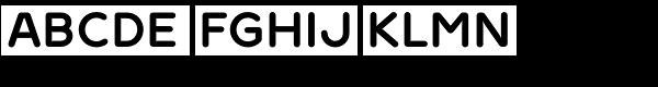 Ultima Pro Bold Font UPPERCASE