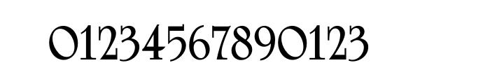 University Roman Std Bold Font