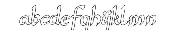 Unkul Font LOWERCASE