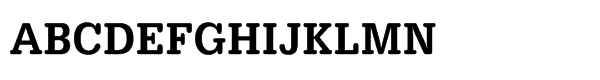 URW Typewriter Std Medium Extra Narrow Font UPPERCASE