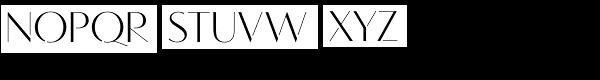 Vanitas Stencil Font UPPERCASE