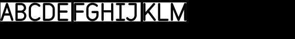 Variable Black Font UPPERCASE