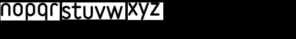 Variable Black Font LOWERCASE