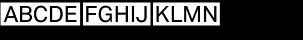 Vaud Medium Font UPPERCASE