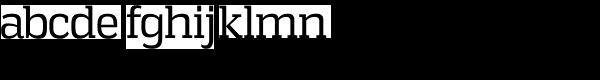 Vectipede Book Regular Font LOWERCASE