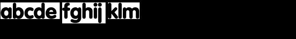 Vega VWSH-Regular Font LOWERCASE