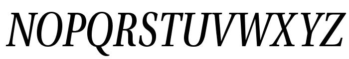 VenturisADFCd-Italic Font UPPERCASE