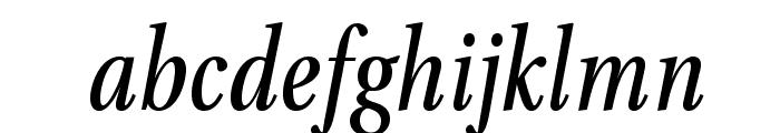 VenturisADFCd-Italic Font LOWERCASE