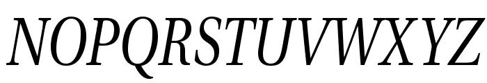 VenturisADFCdStyle-Italic Font UPPERCASE