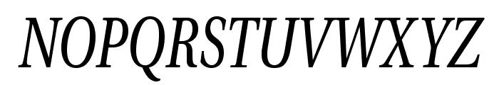 VenturisADFNo2Cd-Italic Font UPPERCASE