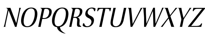 VenturisSansADFNo2-Italic Font UPPERCASE